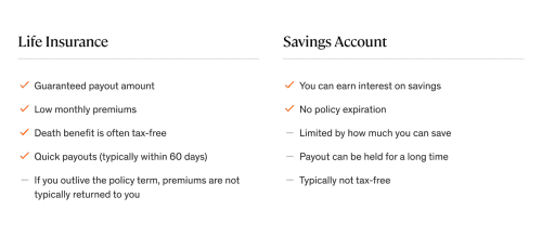 Life Insurance vs Savings: Pros and Cons