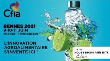 Rendez-vous au CFIA de Rennes les 9, 10 et 11 juin 2021