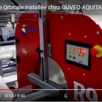 Filmeuse Orbitale installée chez OUVEO AQUITAINE (33)