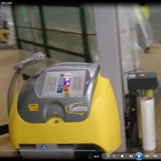 Getra Atlanta Robot de banderolage SFERA EASY FE pour portes et fenêtres