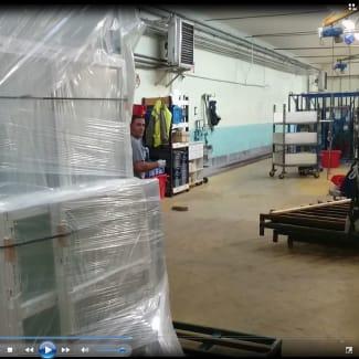 Getra Atlanta Robot de banderolage SFERA EASY FE spécifique fenêtres