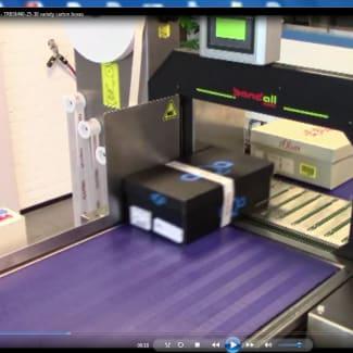 Getra Bandall, TRB full automatique pour le banderolage de carton multi-format