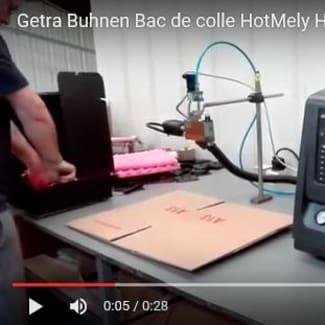 Getra Buhnen Fondoir de colle hotmelt HB 6050