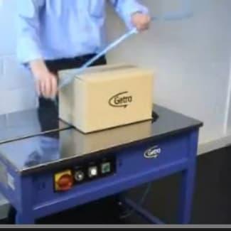 Getra Getrabander table de cerclage semi-automatique