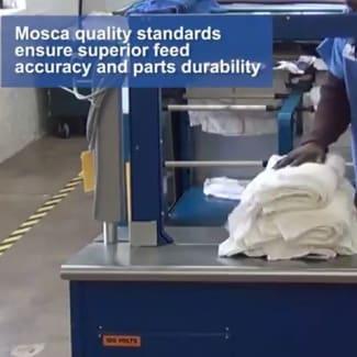 Getra Mosca Cercleuse automatique pour blanchisserie RO-M FUSION