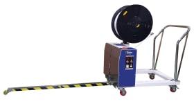 Cercleuse palette Getrabander Electric pour le cerclage palette vertical