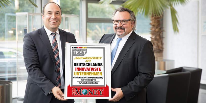 MOSCA GmbH remporte le prix de « l'entreprise allemande la plus innovante »