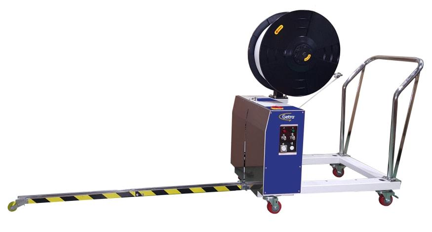 Cercleuse Getrabander Electric M Verticale pour le cerclage palette