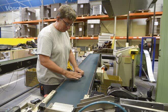 Le site stamésien de Sofragraf compte 125 salariés. L'usine produit essentiellement des clous et des agrafes à vocation industrielle ainsi que des machines qui y sont liées