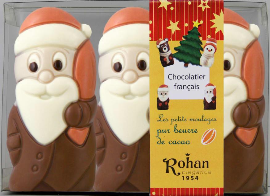 Chocolats de Noël mis sous bande Getra