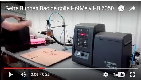 Fondoir HotMelt Getra de 4 L pour 1 à 6 tuyaux chauffés