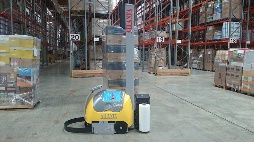 Robot de banderolage à mat Getra Atlanta