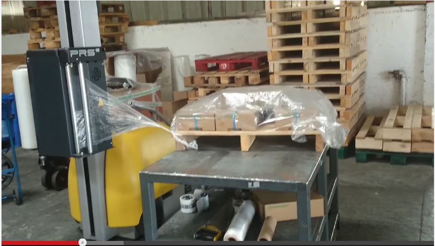 Robot de banderolage
