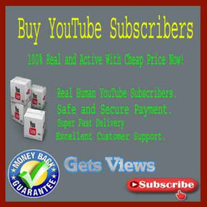 Buy YouTube Subscribers