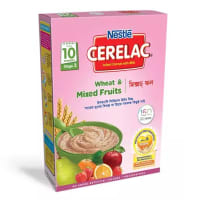 Nestle Cerelac 3 Wheat & Mixed Fruits (10 month +) BIB