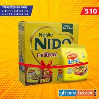 Nestle NIDO Fortigrow Full Cream Milk Powder BIB (Free Maggi Noodles)