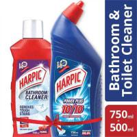 Harpic Toilet and Bathroom Cleaner (Floral) Manikjor Offer (Mug Free)