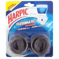 Harpic Flushmatic In-cistern Toilet Cleaner Twin Pack (50 gm)