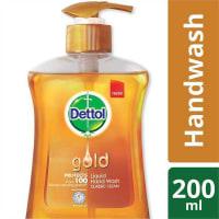 Dettol Handwash Pump Gold