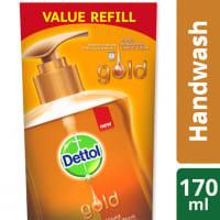Dettol Handwash Refill Poly Gold