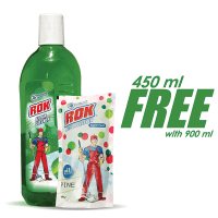 Rok Floor Cleaner Lemon (450 ml Refill Free)