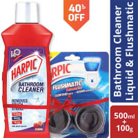 Harpic Toilet and Bathroom Cleaner Combo