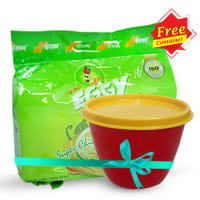 Ifad Eggy Instant Chicken Noodles 4 pcs (Storage Container Free)