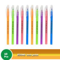 Econo Tech Point Oil Gel Pen