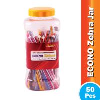 Econo Zebra Ball Pen With Jar