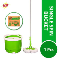 Scotch Brite Single Spin Mop Bucket