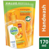 Dettol Handwash Re-energize Liquid Soap Refill