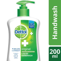 Dettol Handwash Original Liquid Soap Pump