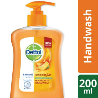 Dettol Handwash Re-energize Liquid Soap Pump