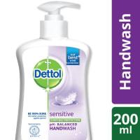 Dettol Handwash Sensitive Liquid Soap Pump