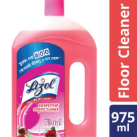 Lizol Floor Cleaner Floral Disinfectant Surface Cleaner