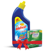 Odofresh Ultra Shine Toilet Cleaner (Odonil Air Freshner 50gm Free)
