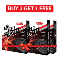 Eagle 1 Straight Shooter Mosquito Coil 10 Coils (Buy 2 Get 1 Free)