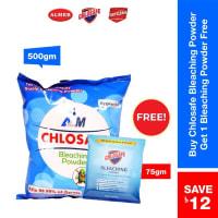 Chlosafe Bleaching Powder (Chlosafe Bleaching Powder 75gm Free)