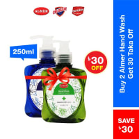 Almer Buy 2 Antibactterial Hand Wash 250ml (Green)  (30 tk Off)
