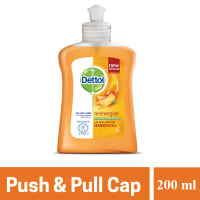 Dettol Handwash Re-energize Liquid Soap Push & Pull Cap