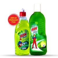 Rok Lemon Floor Cleaner (Free Dishwash 500 ml)