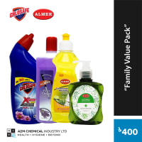 Chlosafe Almer Family Value Pack (Cleaning Combo)