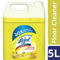 Lizol Floor Cleaner Citrus Disinfectant Surface Cleaner
