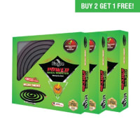 Eagle Power Mega Booster Micro Smoke  Mosquito Coil - 10 Coils (Buy 2 Get 1 Free)