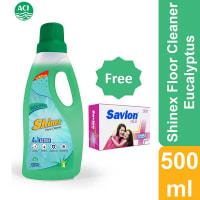Shinex Floor Cleaner Eucalyptus (Savlon Mild Soap 75gm Free !)