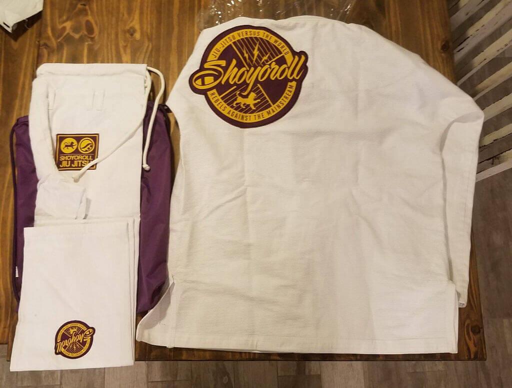 Shoyoroll Mamba Competitor White Batch 83 ***Brand New***