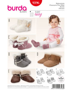 baby Shoes - 9396