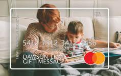 Custom Mastercard Gift Card