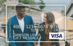 Custom Visa Gift Card