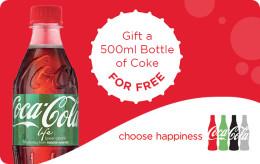 500ml Bottle of Coca Cola Life